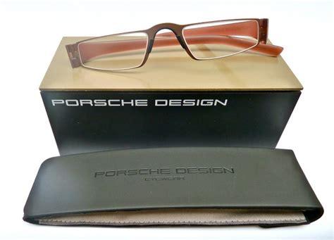 Porsche Lesebrille by Porsche Design 174 Lesebrille 8801 R Hellbraun Rotbraun