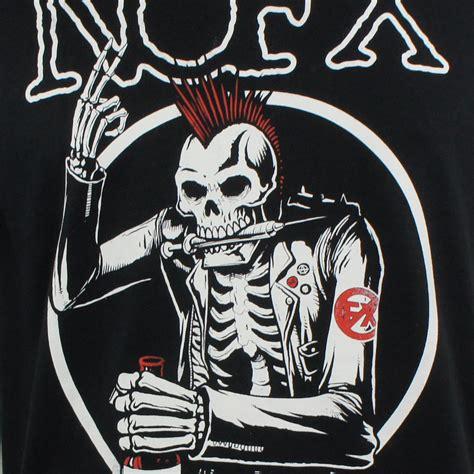 Kaos Nofx Tshirt Musik Rock Nofx 10 nofx t shirt skull merch2rock alternative clothing