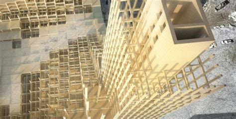 Home Design Shows Canada Globe Net Government Of Qu 233 Bec Launches 12 Storey Wood