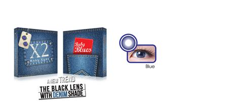X2 No 8 The Lens Blue baby blues exoticon your
