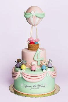 Balon Birthday Tart 22281 princess peppa pig cakes cake decorating daily inspiration ideas