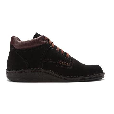 finn comfort boots finn comfort women s linz boots in black nubuck brown