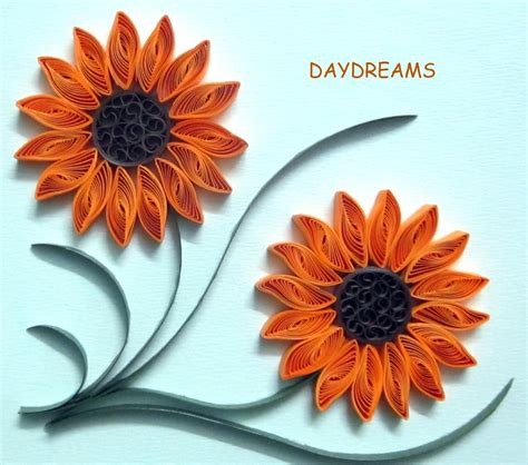Paper Quilling Flower - daydreams quilled flowers