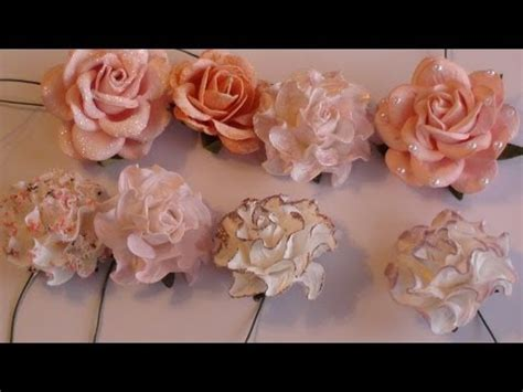 paper flower tutorial dailymotion wild orchid crafts tutorial on altering paper flowers