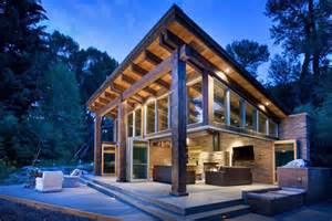 Woody Cabin woody creek cabin on the rivers edge