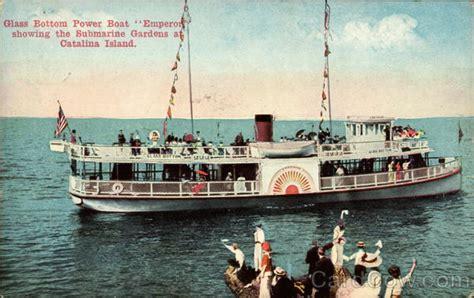 glass bottom boats catalina ca glass bottom powerboat quot emperor santa catalina island ca