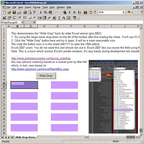 tutorial excel vba 2007 excel 2010 macro create named range excel 2010 vba