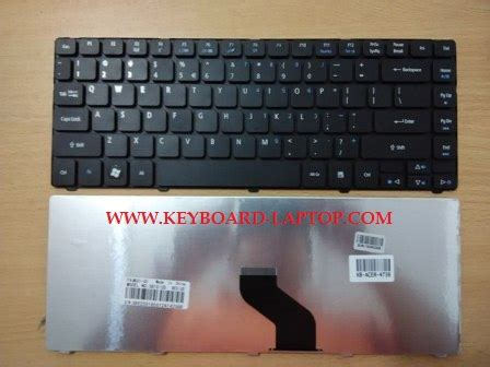 Keyboard Laptop Merk Acer jual keyboard acer 4736 keyboard laptop