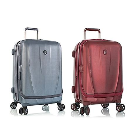 bed bath and beyond suitcases heys 174 vantage smart luggage 21 inch carry on spinner