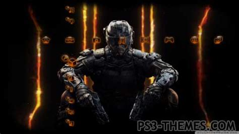themes black ps3 ps3 themes 187 call of duty black ops 3 ps3 theme