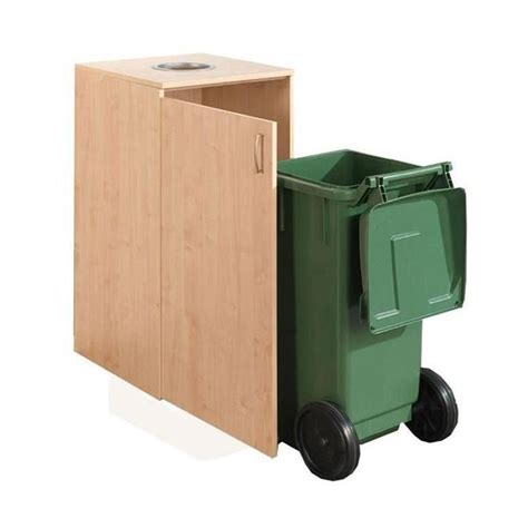 Bin Cabinet by Wheelie Bin Cabinet Can Slot Aj Products