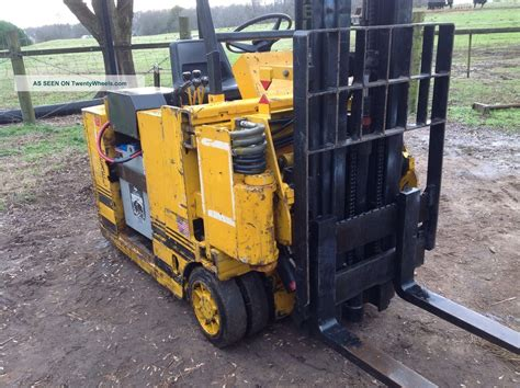 swing lift forklift drexel slt30 swing mast fork lift