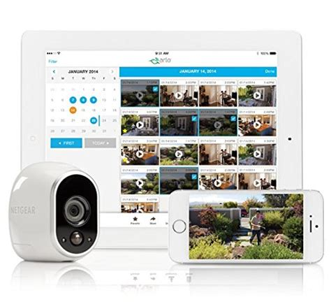 arlo smart home security from netgear lifestyle