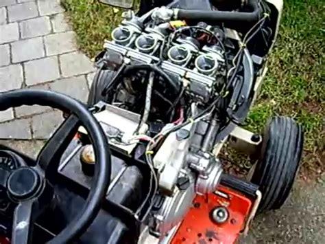 Motorrad Verkauf Abmeldung by Rasender Rasentraktor Mit Yamaha Motor Crazy Teil