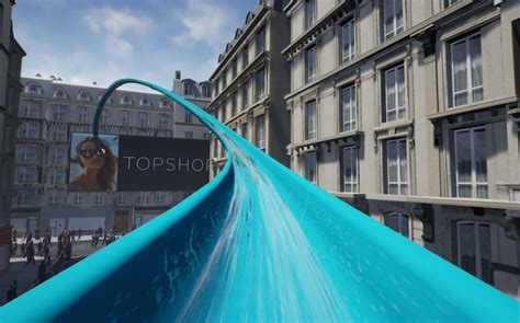 T2b Shopping Topshop Experience And Then Some by A Splash Topshop S Vr Waterslide Insider Trends