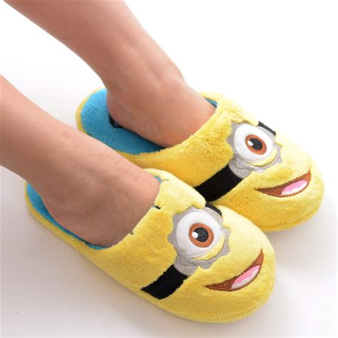 minion house slippers minion slippers for 28 images minion slippers 11 quot despicable me 2 minions 3d