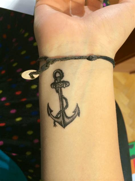anchor wrist designs ideas and meaning tattoos