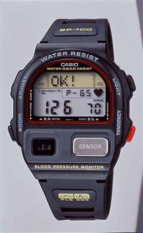 casio bp 100 exhibition shows casio ahead of its time wearables news