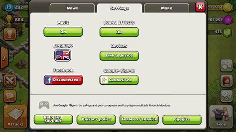 cara membuat mod game coc cara membuat multi akun game clash of clans coc dalam