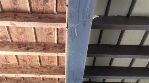 soffitto in legno sabbiatura velatura soffitto in legno
