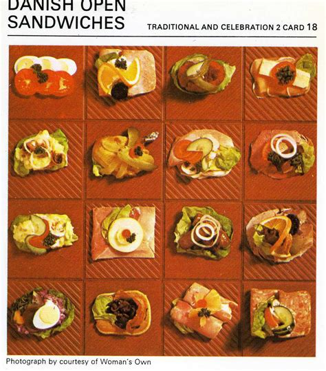 inspired recipes a complete cookbook of scandinavian dish ideas books open sandwiches the vintage cookbook trials