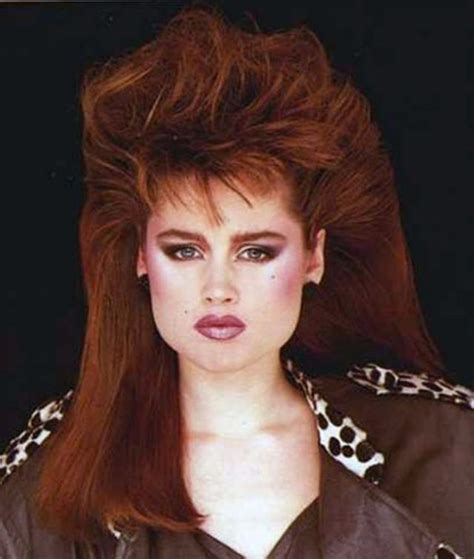 hair styles for women in there 80s 1980s the period of women rock hairstyle boom