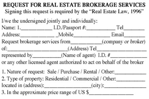 28 brokerage agreement template free printable