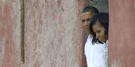 obamas visit door   return  goree island senegal