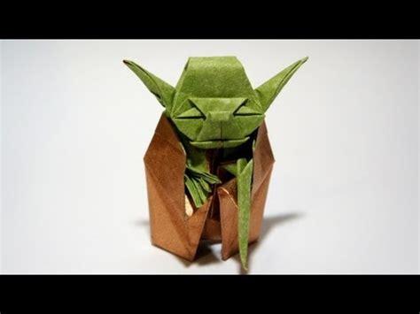 Advanced Origami Yoda - origami jedi master yoda fumiaki kawahata wars