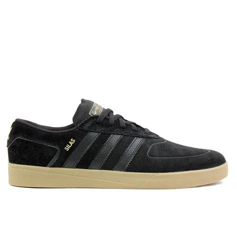 Kaos Adidas Sb Black adidas skateboarding silas vulc adv in black black gold