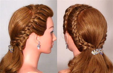 womenbeauty1 hairstyles download прическа на каждый день с плетением braided hairstyle for