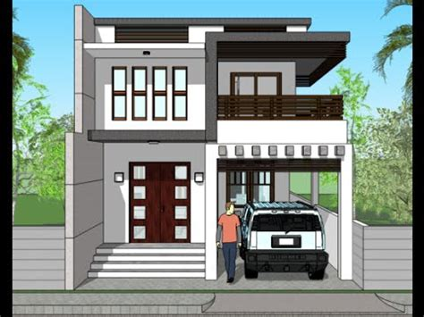 Modern house plans india small houses 3d elevations and rendered