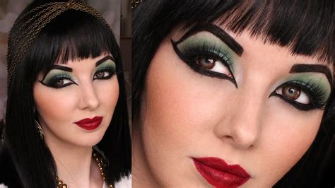 tutorial makeup cleopatra historically accurate ancient egypt cleopatra makeup