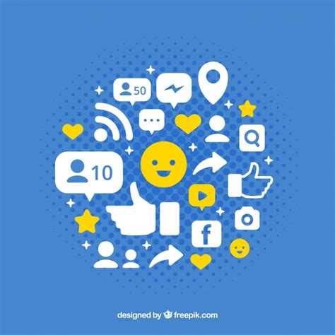 facebook layout vector free download facebook icon background vector free download