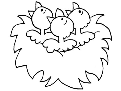 chicken nest coloring page chicken nest colouring pages page 2