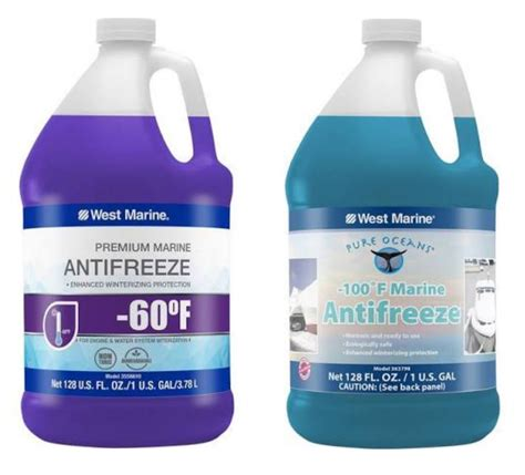 winterizing a boat antifreeze antifreeze to winterize your classic boat pink or green