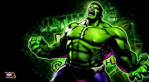 wallpaper cartoon hulk ultimate marvel vs capcom 3 hulk wallpaper by kaboxx on