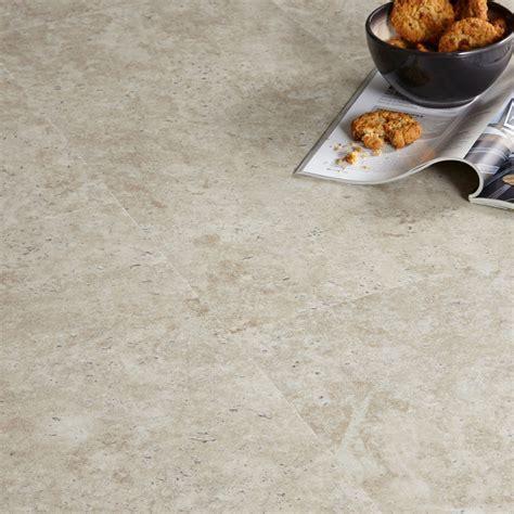 Colours Grey Limestone effect Luxury vinyl click flooring