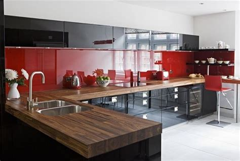 red and black kitchen ideas how to design a red and black kitchen home decor buzz