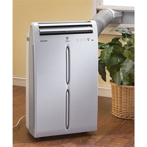 Ac Portable Sharp Fu sharp 174 10k btu portable ac unit refurbished 161822 air conditioners fans at sportsman s guide