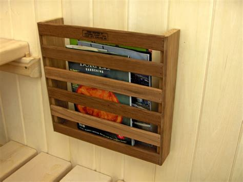 bathroom wall magazine rack red cedar magazine rack sauna magazine rack 29 95