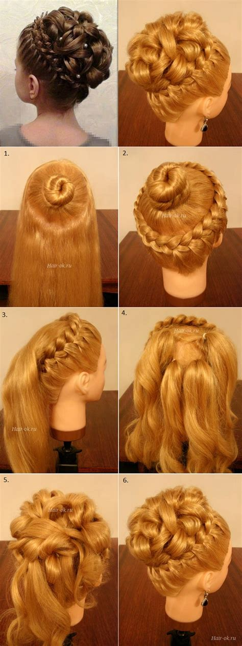 hairstyles braided with curls elegant braided hairstyles creative braids for women