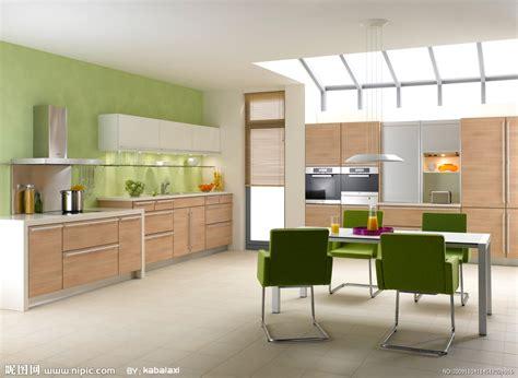 yellow and green color combo kitchen design ideas 厨房装修图片设计图 室内设计 环境设计 设计图库 昵图网nipic com