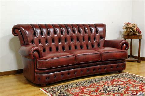 divano classico pelle divano classico di lusso in vera pelle simile al chesterfield