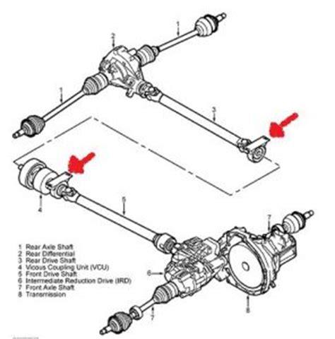 land rover freelander propshaft prop shaft four cylinder four wheel drive manual 136 000