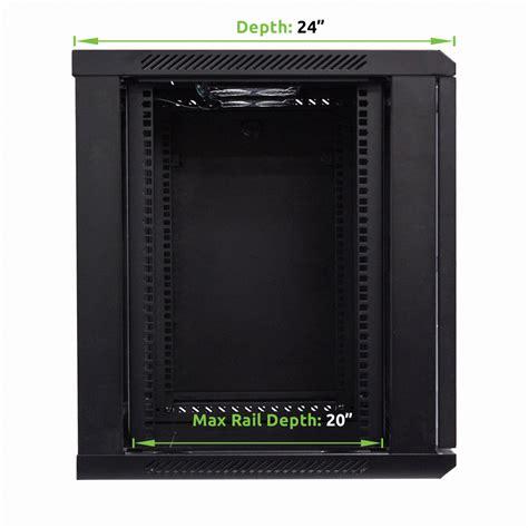 24 inch depth cabinets 12u wall mount network server data cabinet 24 inch depth