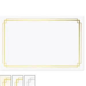 border gold miniaward by paperdirect