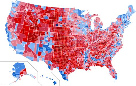 map of usa votes by county how the electoral college could make every vote really