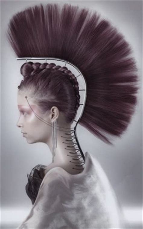images of people that have a mohican hairstyle 1167 best hair images on pinterest costumes updos and