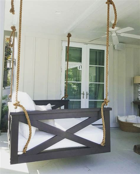 swinging beds best 25 porch swing beds ideas on pinterest porch